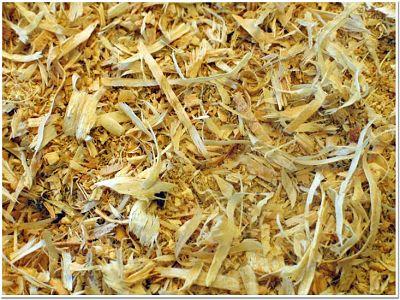 Residuos de madera para la fabricación de pellets